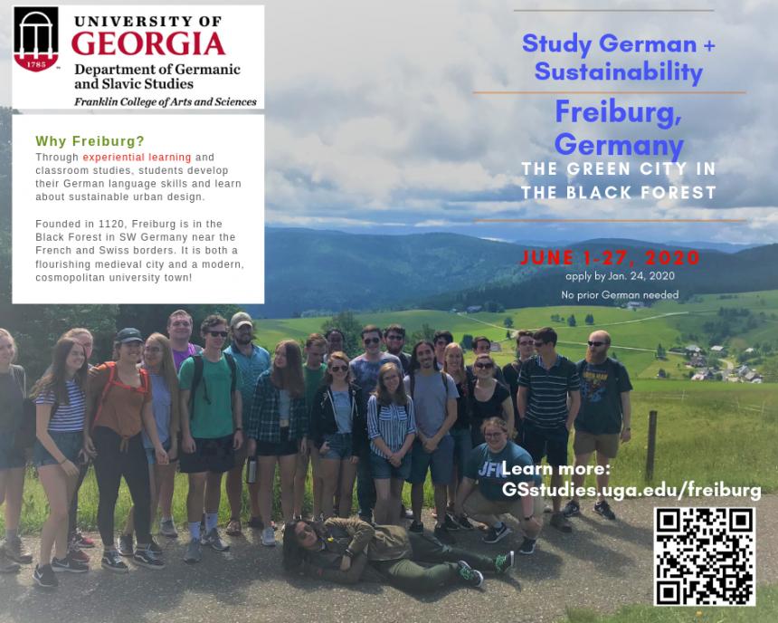 UGA Study Abroad in Freiburg | Germanic and Slavic Studies